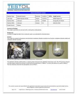 Forensic Oil Analysis
