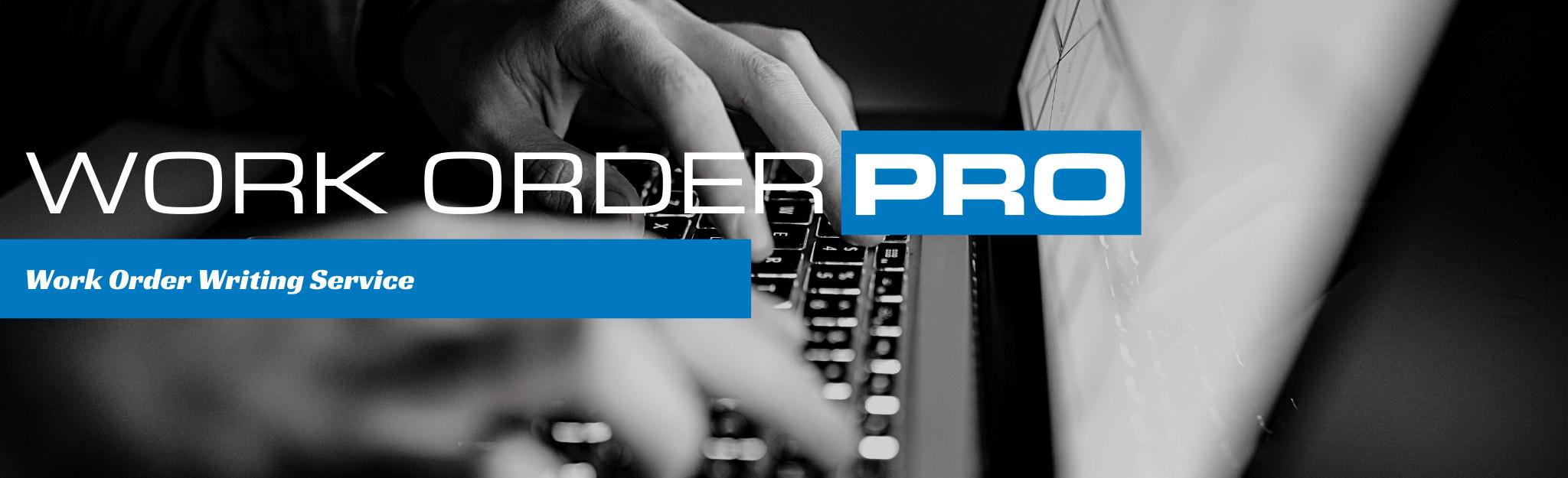 Lube Program Work Order Writing Service