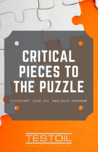 Oil Analysis Program Management
