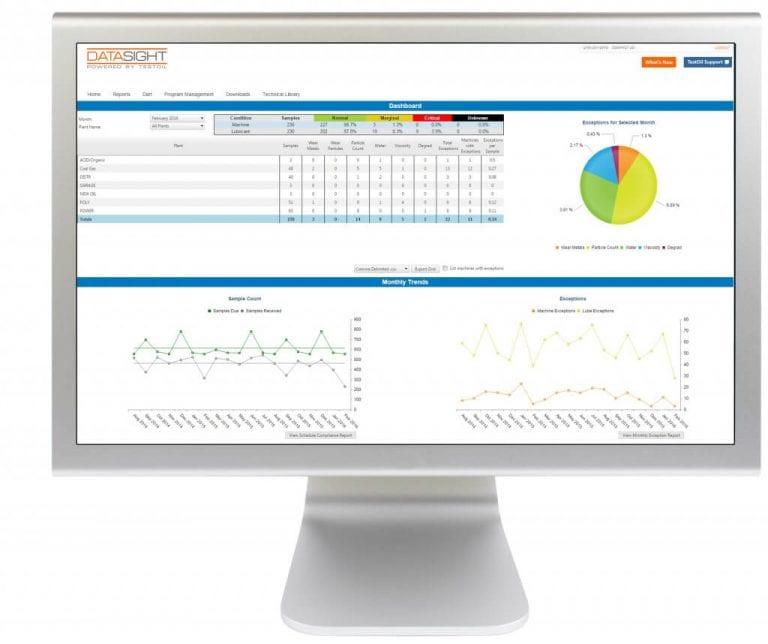 Oil Analysis Program Management Tool