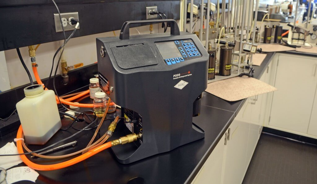 Optical Laser Particle Count